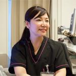 女医による診療(藤井医師)